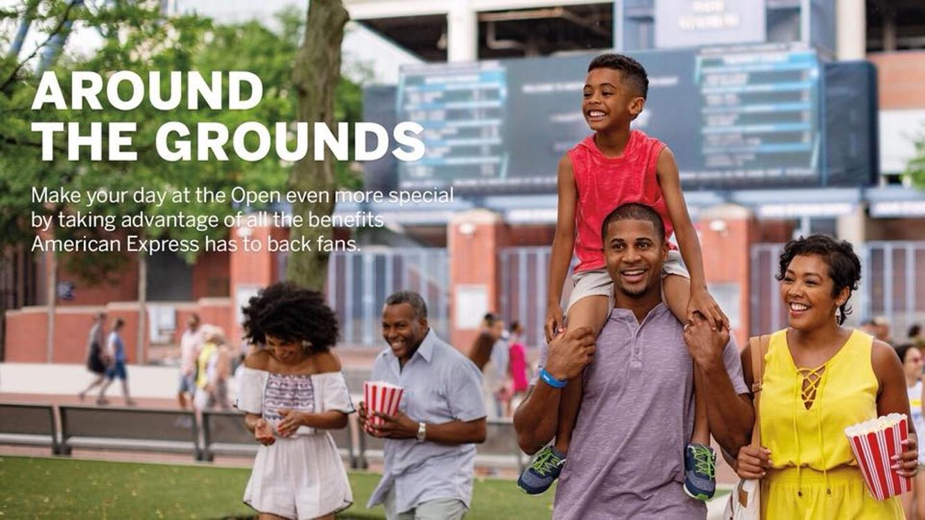 Print: The Ellis Family for Amex & U.S. Open