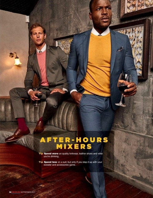 GQ South Africa   PH: Higor Bastos   Styling: Jason Basson   Groomer: Sian Moss