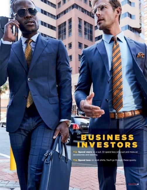 GQ South Africa | PH: Higor Bastos | Styling: Jason Basson | Groomer: Sian Moss