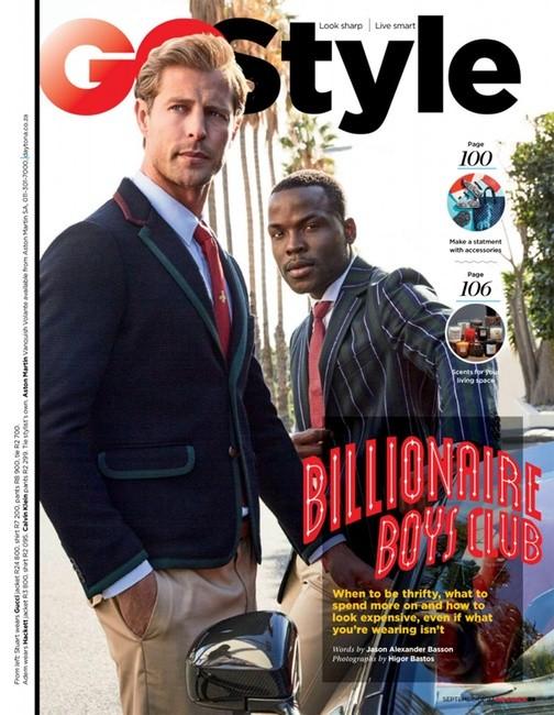GQ South Africa Sept 2017   PH: Higor Bastos   Styling: Jason Basson   Groomer: Sian Moss