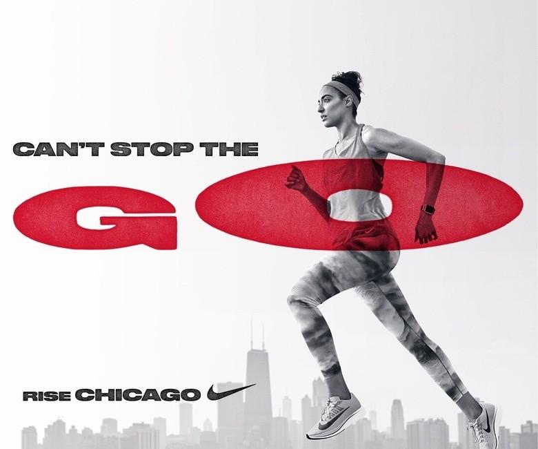 Nike for the Chicago Marathon