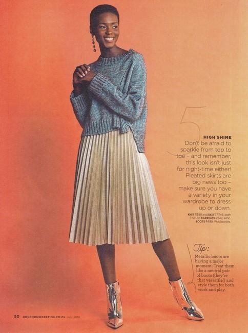 Good Housekeeping | PH: Katinka Bester | H: Kelly Paitaki | MU: Algria Ferreira | Styling: Cleo Marc