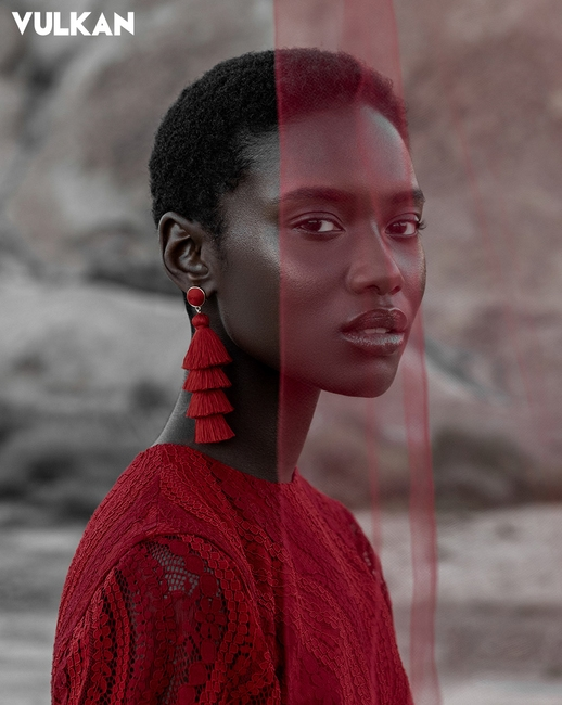 Vulkan Magazine | PH: Oye Diran | MU: Dominique Lerma