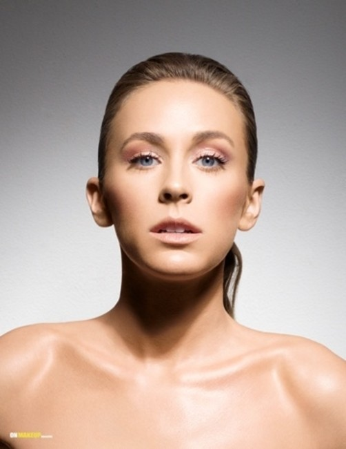 On Makeup Magazine   Ph: Steve Ledell   MU: Candace Corey   Hair: Jennifer Jackson