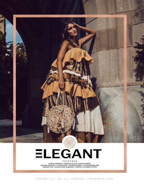 Elegant Magazine    PH: Isi Akahome   Designer: Adreain Jovan Guillory   MU: Caress Sahura