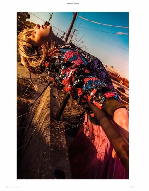 Promo Magazine | PH: Bart Kurela | Hair: Tim Mcclean | MU: Rachel Eblin | Styling: Amethyst Dauksa