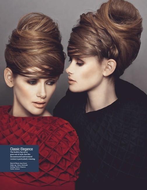 PH/Hair: Jean Sweet   MU: Darcy McGrath   Styling: Patrick Chauvez