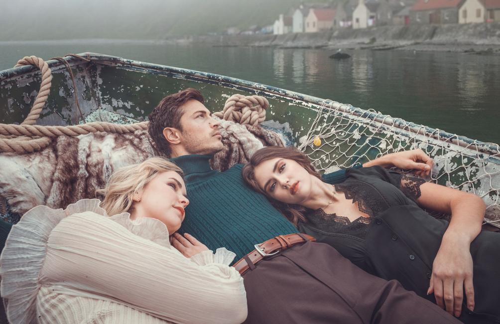 PH: Andrew Atwell | Stylist: Ashley Chenrey | Model: Caleigh Valentine, Taylor Kraemer, and Trevor O