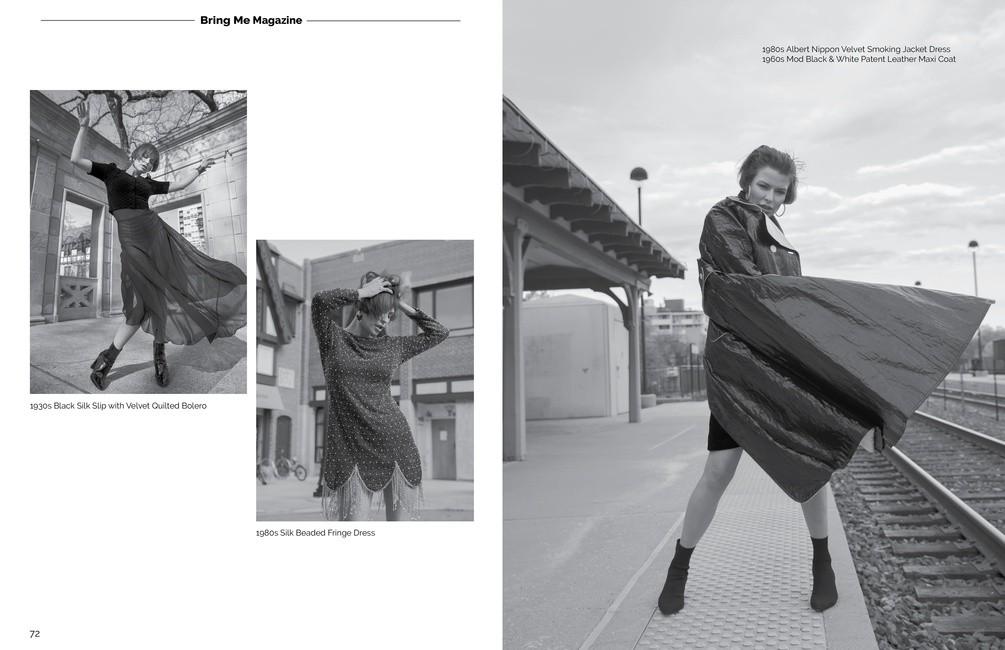 Bring Me Magazine   PH: Elfego Solares   MU: Tanya Renelt   Styling: Tricia Zelazny