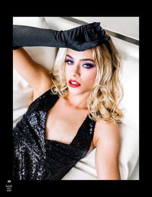 Salysé Magazine   PH: Emily Davis   MU: Linnea Cintron   Hair: Jayden Huebner   Stylist: Anya Woznia