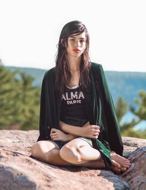 L'Officiel Lithuania | PH: Adam Mayer | HMU: Elena Denning | Styling: Pa Vanessa Lor