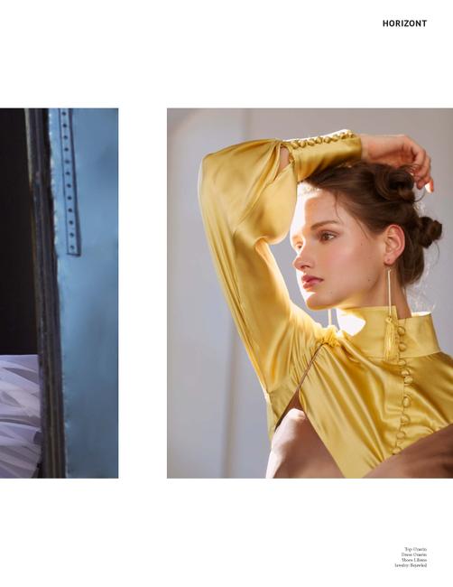 Horizont Magazine   PH: Anna Fischer   Hair: Benjamin Josh Tandre   MU: Allyson Wisel   Stylist: Sye