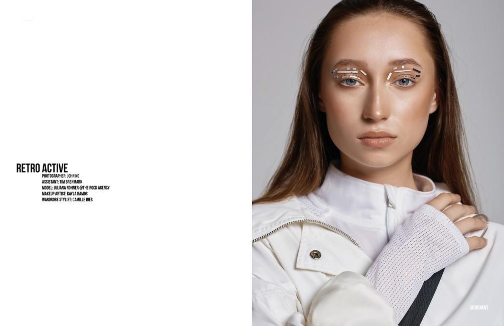 Mordant Magazine    PH: John Ng   HMU: Kayla Ramos   Styling: Camille Ries