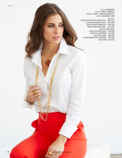 Faddy Magazine | PH: Alibamar | MU: Carolina Benitez