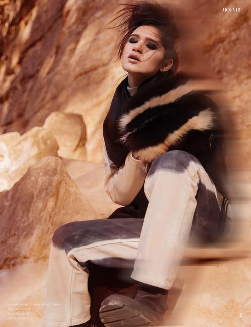 Moevir Magazine   PH: Bekah Wriedt   HMUA: Kasha Bonnell   Stylist: Jaclyn Eve