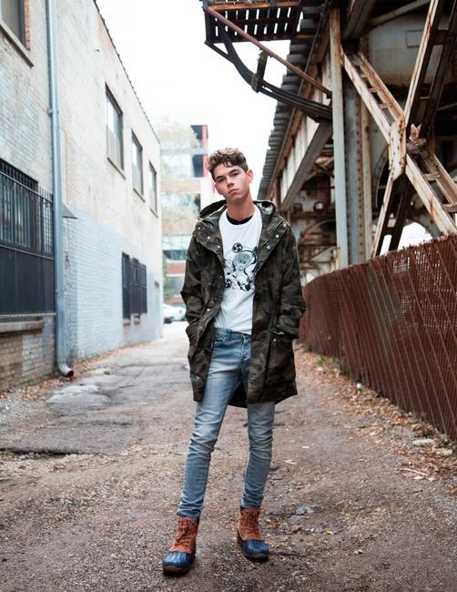 PH: Ryan Barhaug | Stylist: Amy Marie | Model: Jayden Phillips