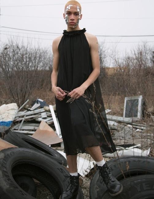 Klatblut Magazine   PH: Ryan Barhaug   HMU: Ashley Zimel   Styling: Taylor Zielinski