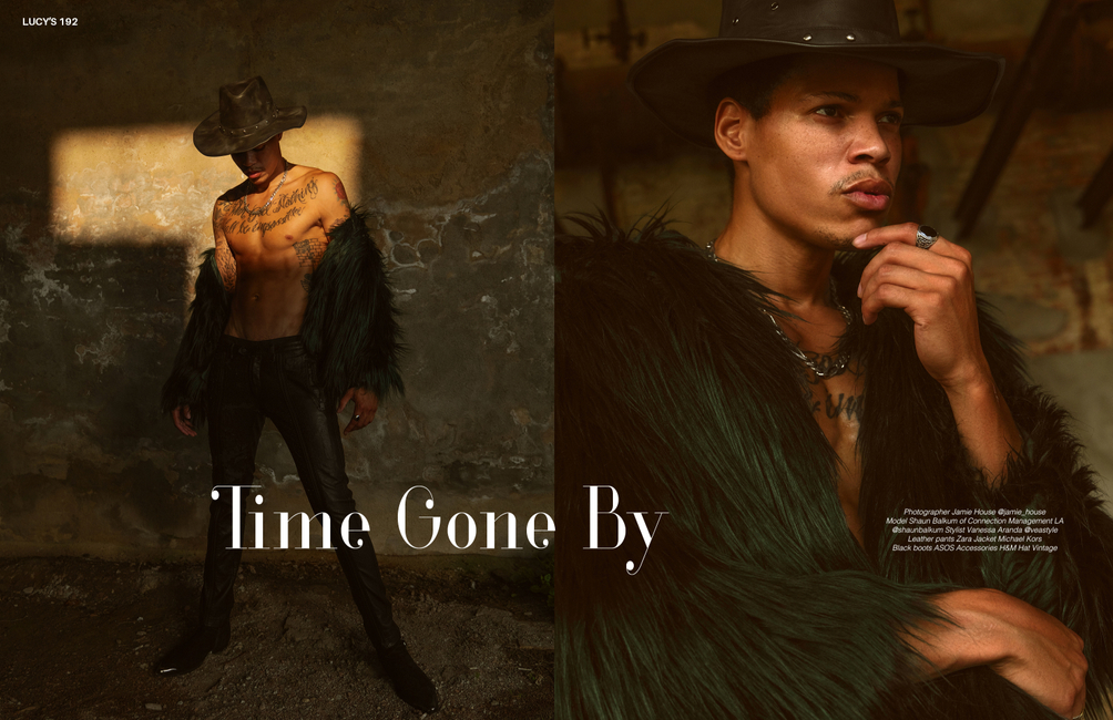 Lucy's Magazine   PH: Jamie House   Stylist: Vanessa Aranda