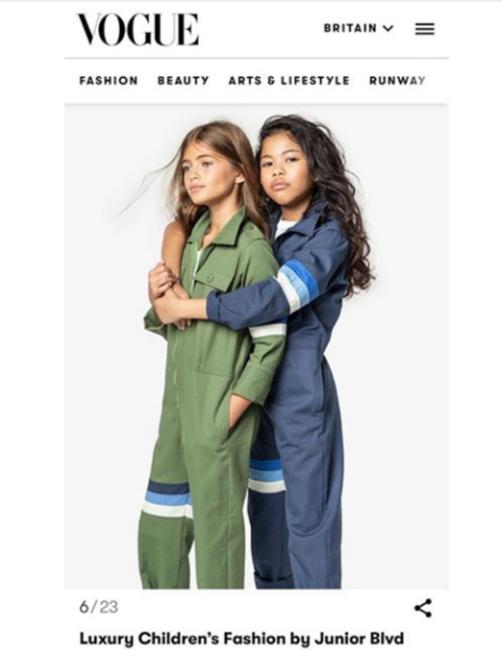 Vogue - Junior Blvd Campaign