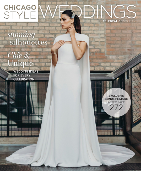 Chicago Style Weddings   PH: Ashley Galminas   MUA: Patty Mcguire   Stylist: Ariana Anderson
