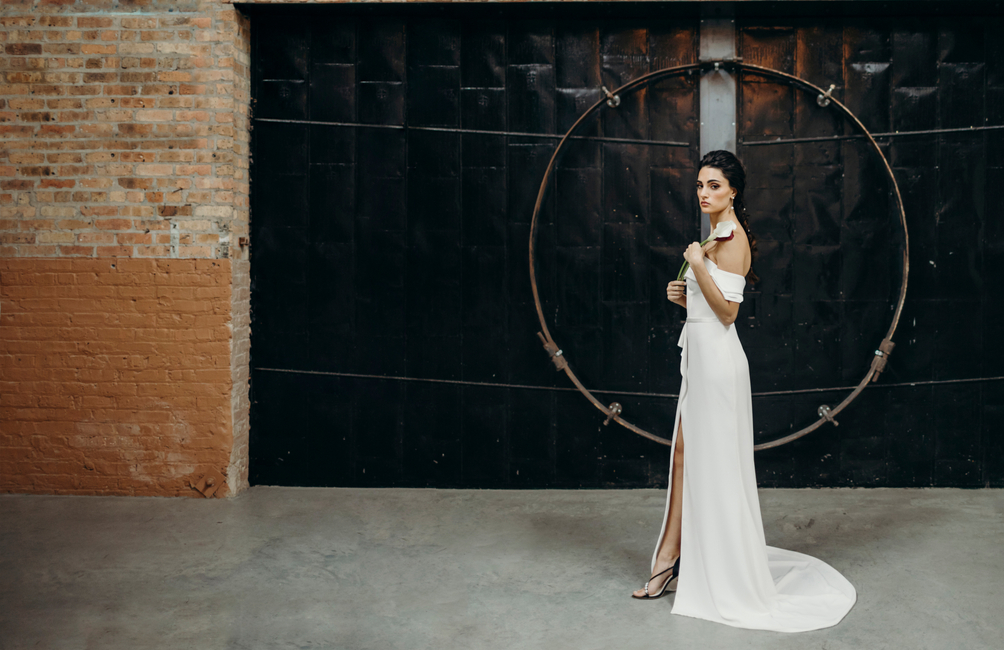 Chicago Style Weddings | PH: Ashley Galminas | MUA: Patty Mcguire | Stylist: Ariana Anderson