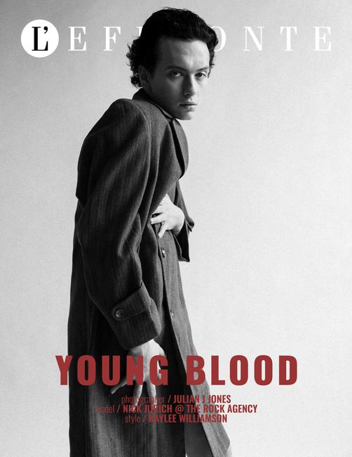 L'effronte Journal | Stylist: Kaylee Williamson | Model: Nick Jurich