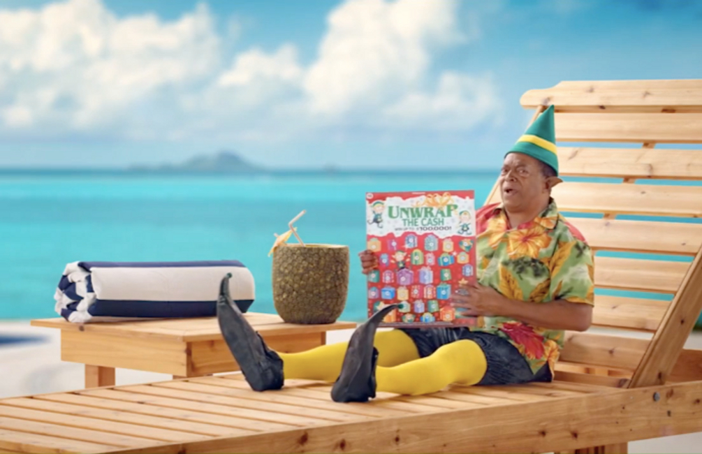Wisconsin Lottery | Unwrap the Cash Commercial | Wardrobe: Amy Burk