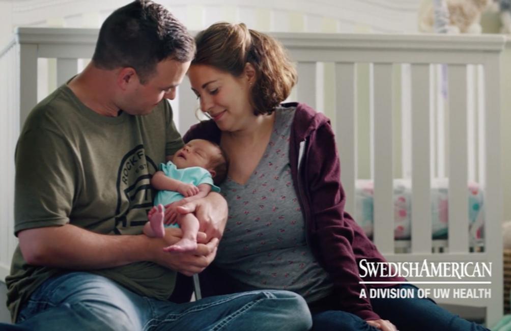 UW Health   Swedish American Commercial   Wardrobe, Child Wrangling: Amy Burk