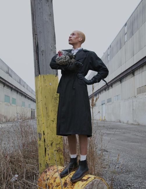 Klatblut Magazine | PH: Ryan Barhaug | Model: Lawrence Franklin