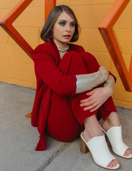PH: Kelsey Herzog | Hair and Makeup: Shalisa Smith | Stylist: Sarah Fern | Model: Emma Chalut