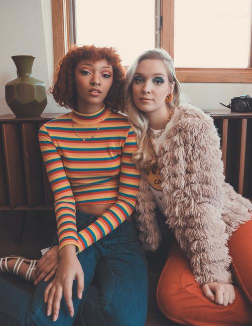 PH: Andrew Atwell   Stylist: Ashley Cherney   Models: Emilija Dekskys and Riah Cole