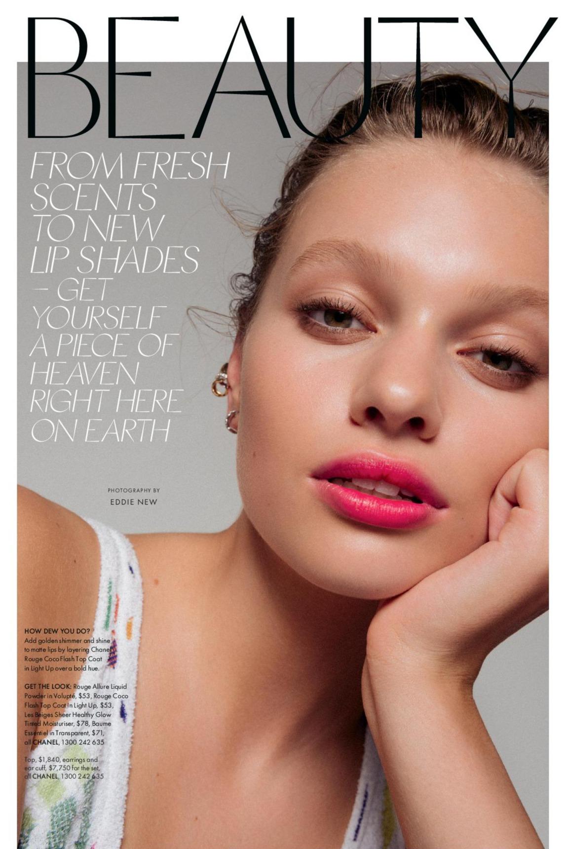 Tiahnee Skrijel for Elle Australia | Pride Models news