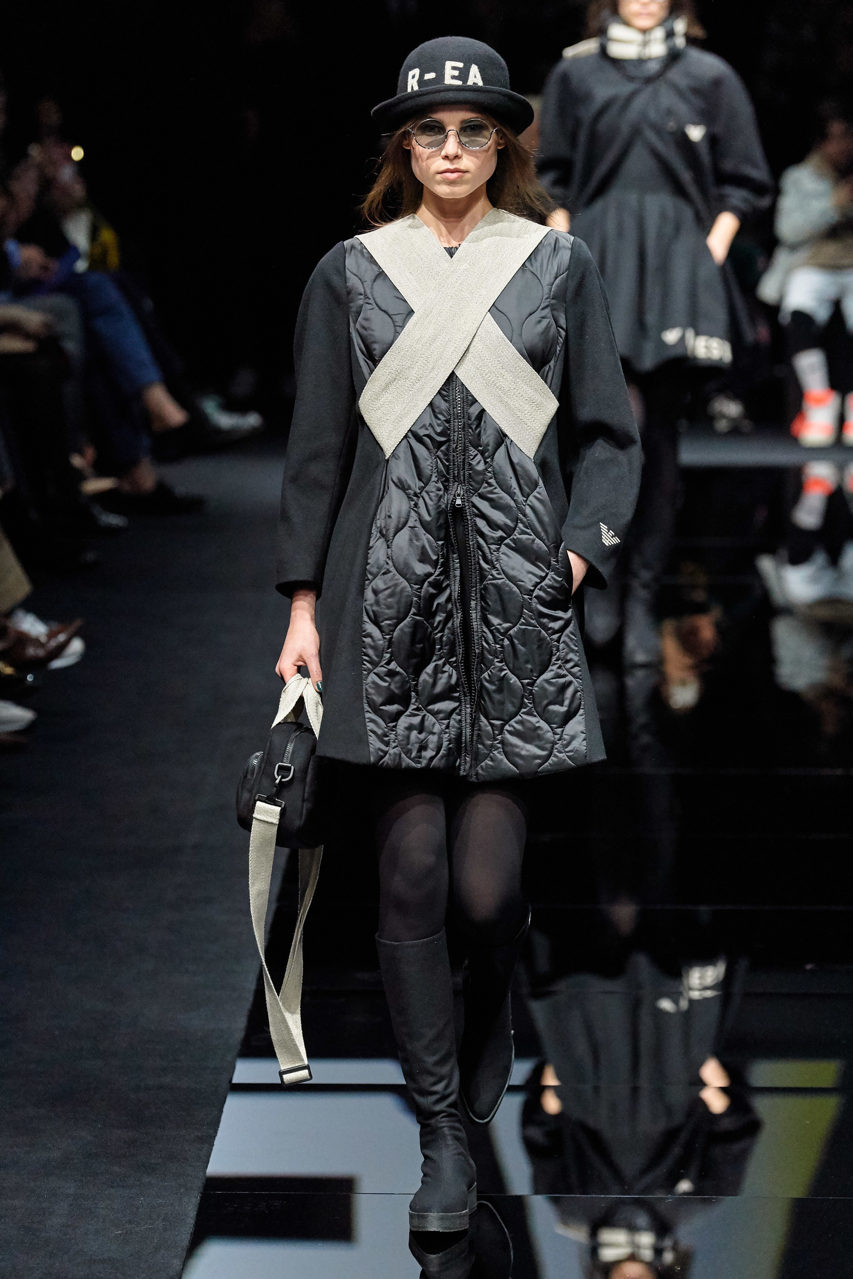 Emma Macgowan walks for Emporio Armani F/W 2020 | Pride Models news