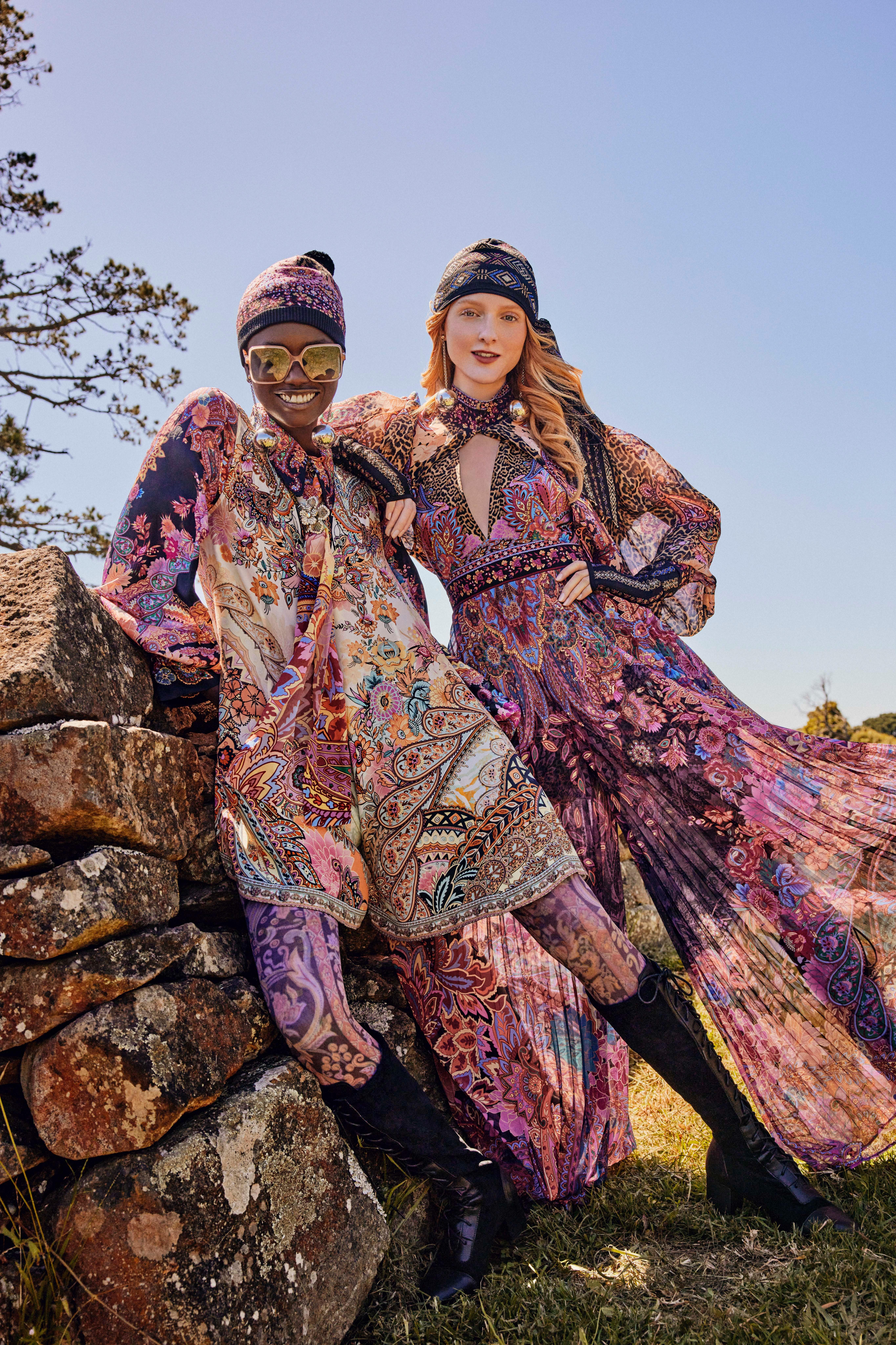 Madison Stubbington and Agi Akur for Camilla   Pride Models news