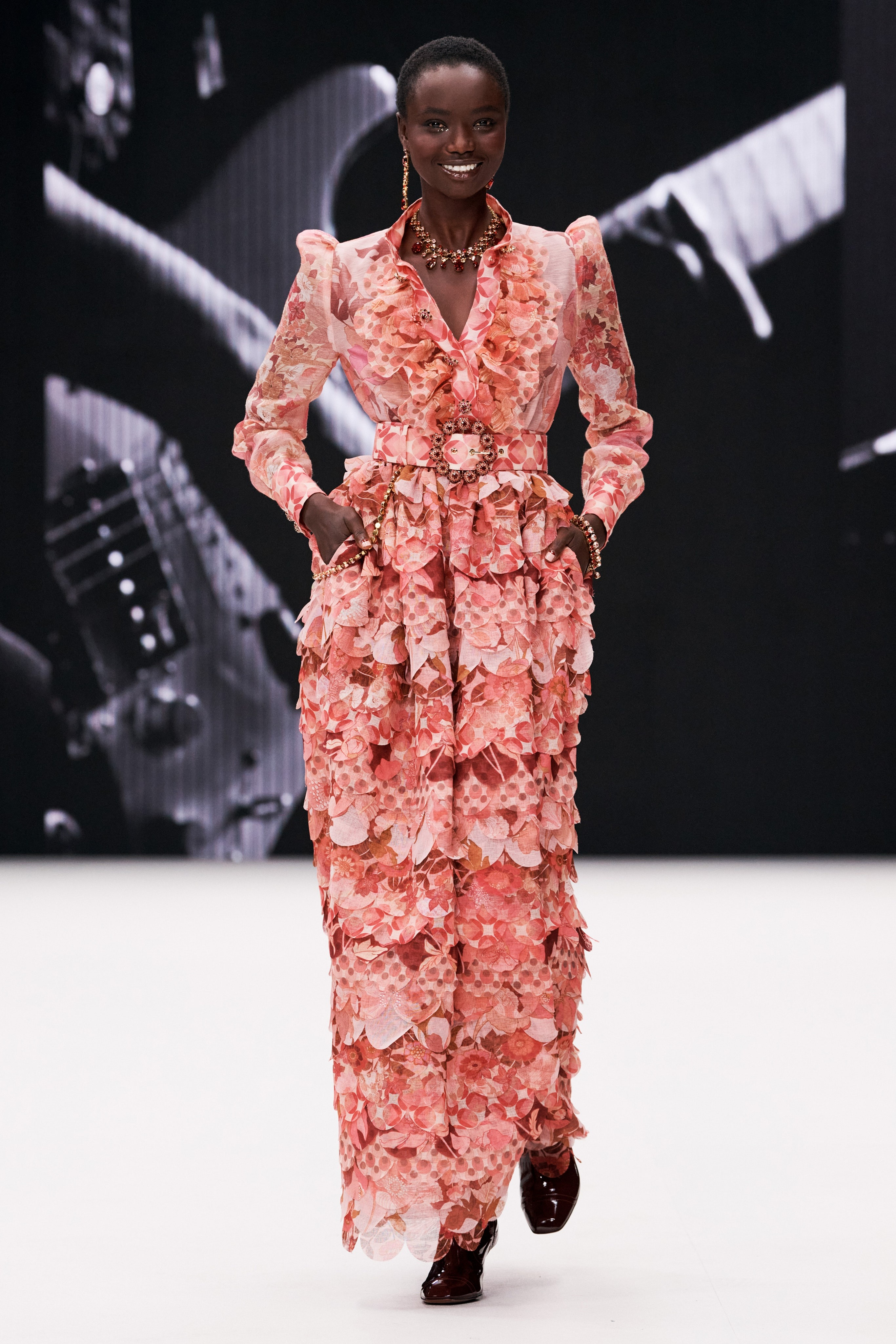 Agi Akur and Madison Stubbington walk for Zimmermann Fall 2021 | Pride Models news