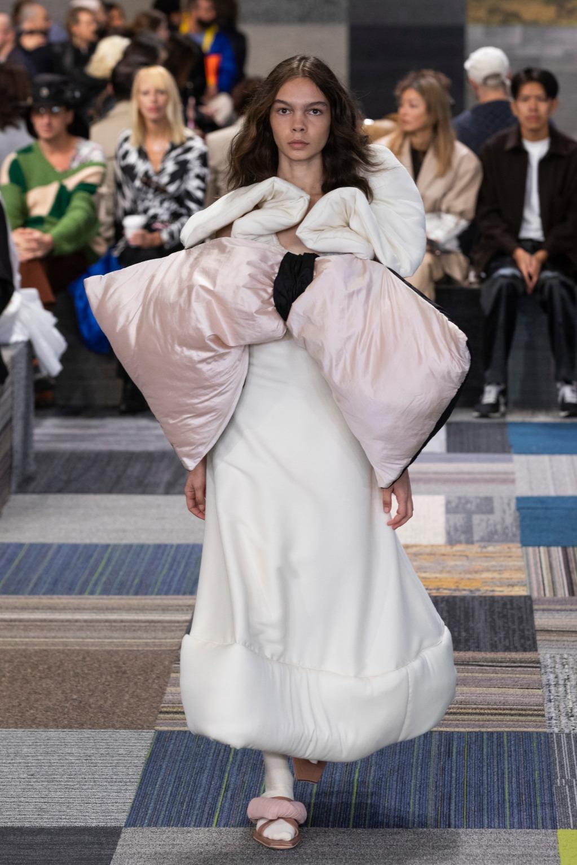 Savannah Kruger walks for Jordan Dalah at Australian Fashion Week   Pride Models news