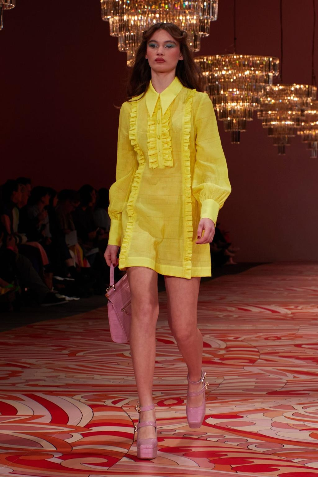 Grace Monfries walks for Alice McCall at Australian Fashion Week   Pride Models news