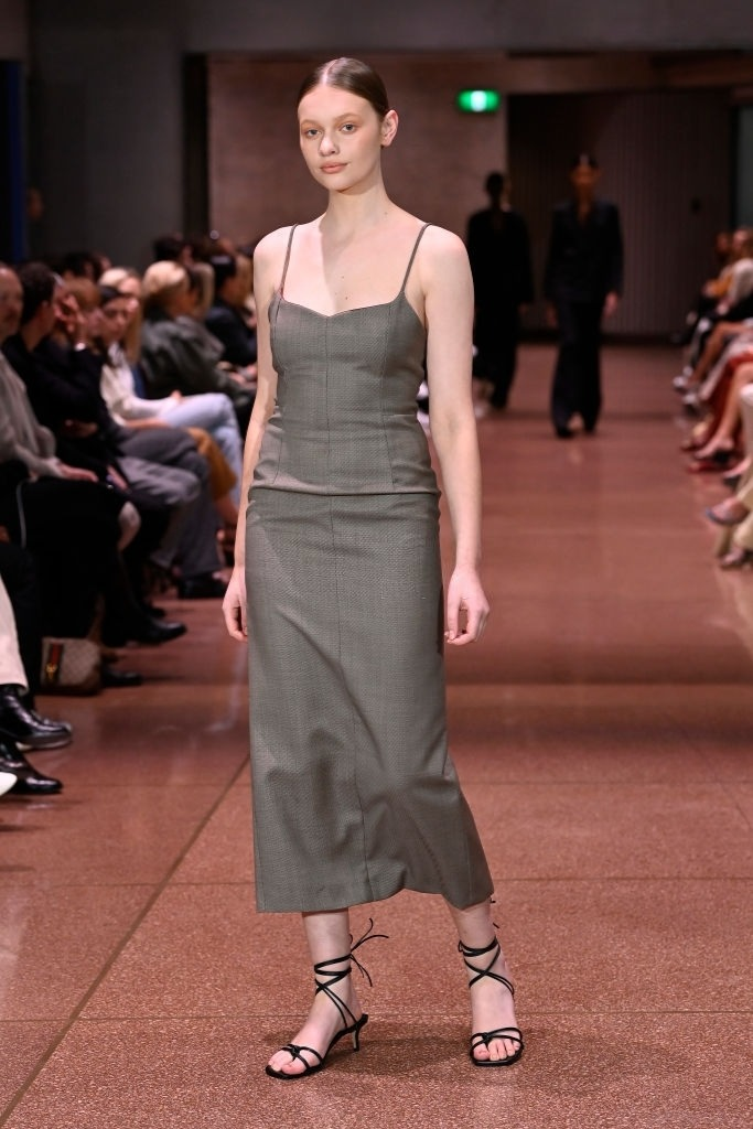 Tiahnee Skrijel walks for Beare Park at Australian Fashion Week   Pride Models news