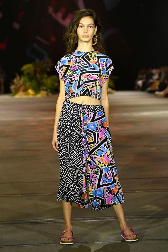Savannah Kruger walks for First Nations Fashion Design at Australian Fashion Week   Pride Models news