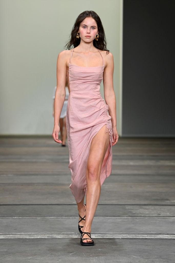 Emma Macgowan walks for Rumer at Australian Fashion Week   Pride Models news