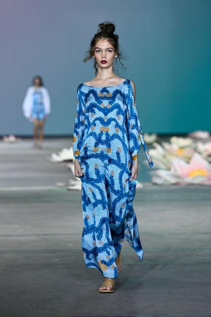 Savannah Kruger walks for Indigenous Fashion Projects at Australian Fashion Week | Pride Models news