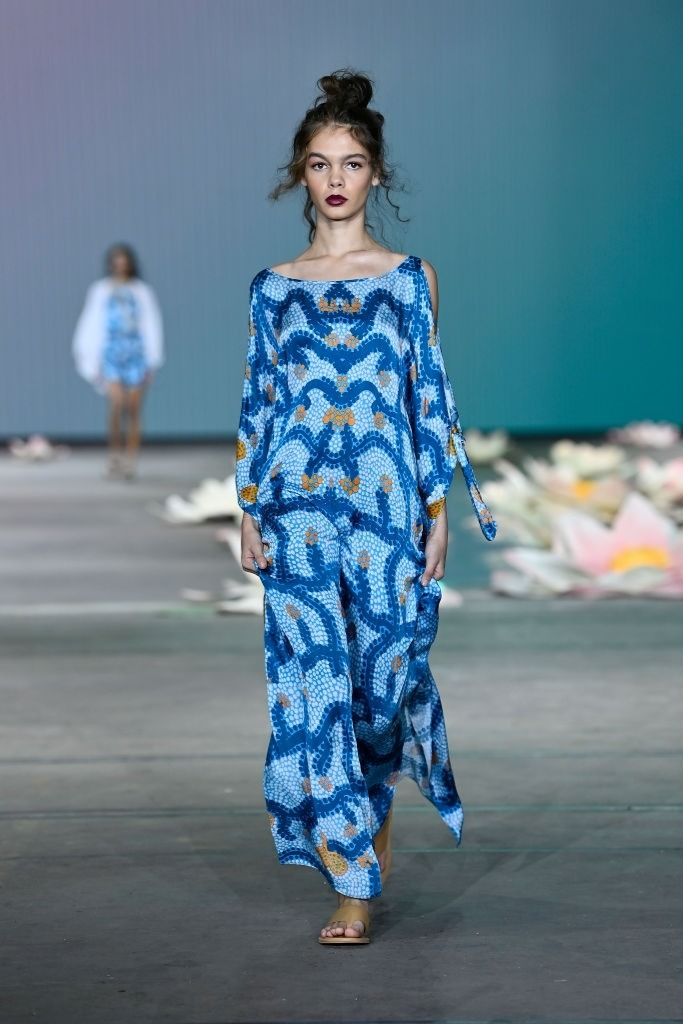 Savannah Kruger walks for Indigenous Fashion Projects at Australian Fashion Week   Pride Models news