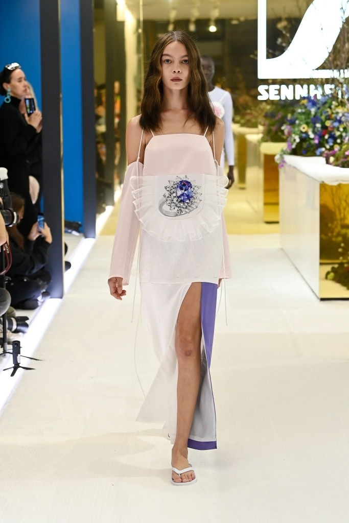 Savannah Kruger walks for Karla Spetic at Australian Fashion Week   Pride Models news