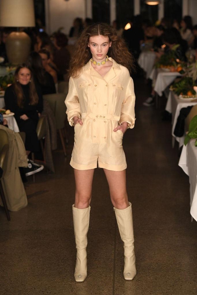 Grace Monfries walks for Auteur Studio at Australian Fashion Week | Pride Models news