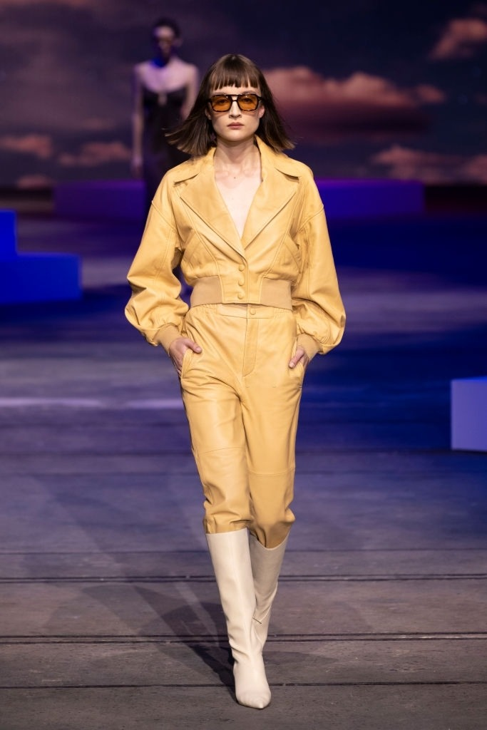 Rosie Graham walks for Manning Cartel at Australian Fashion Week   Pride Models news