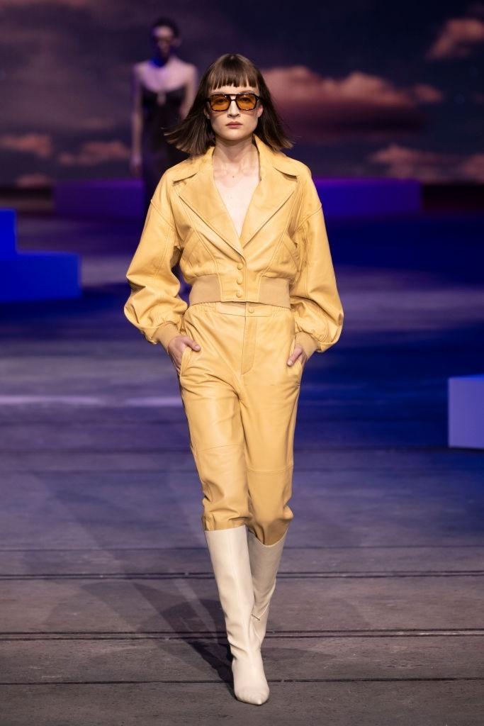 Rosie Graham walks for Manning Cartel at Australian Fashion Week | Pride Models news