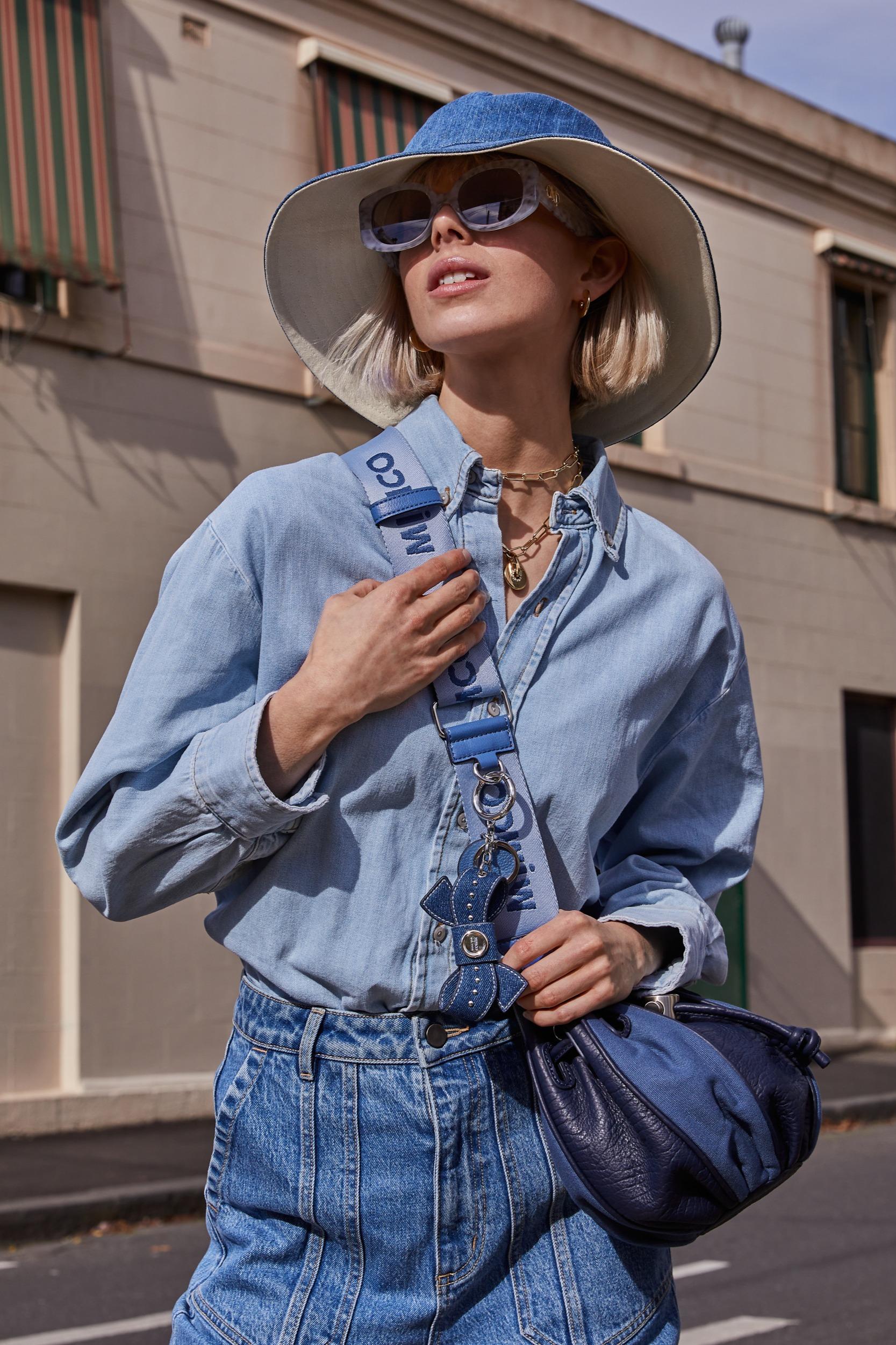 Chloe Wheatland for Mimco Street Style   Pride Models news