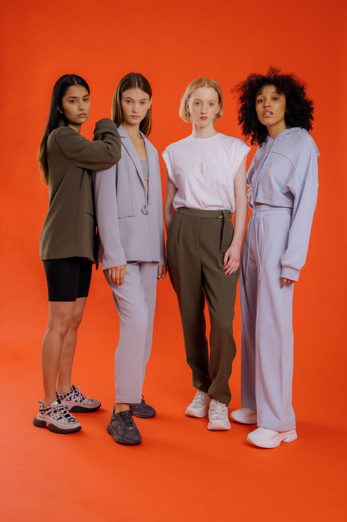 Grace, Ella, Pratikshya and Leilani for The Fifth Label | Pride Models news
