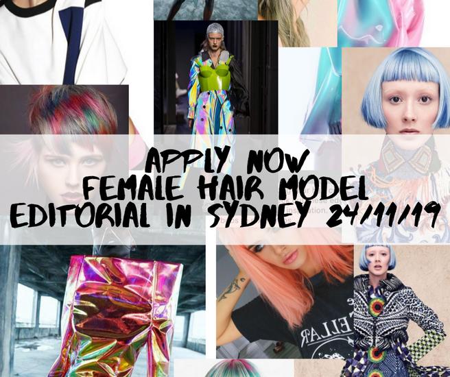 Female Hair Models for Colours