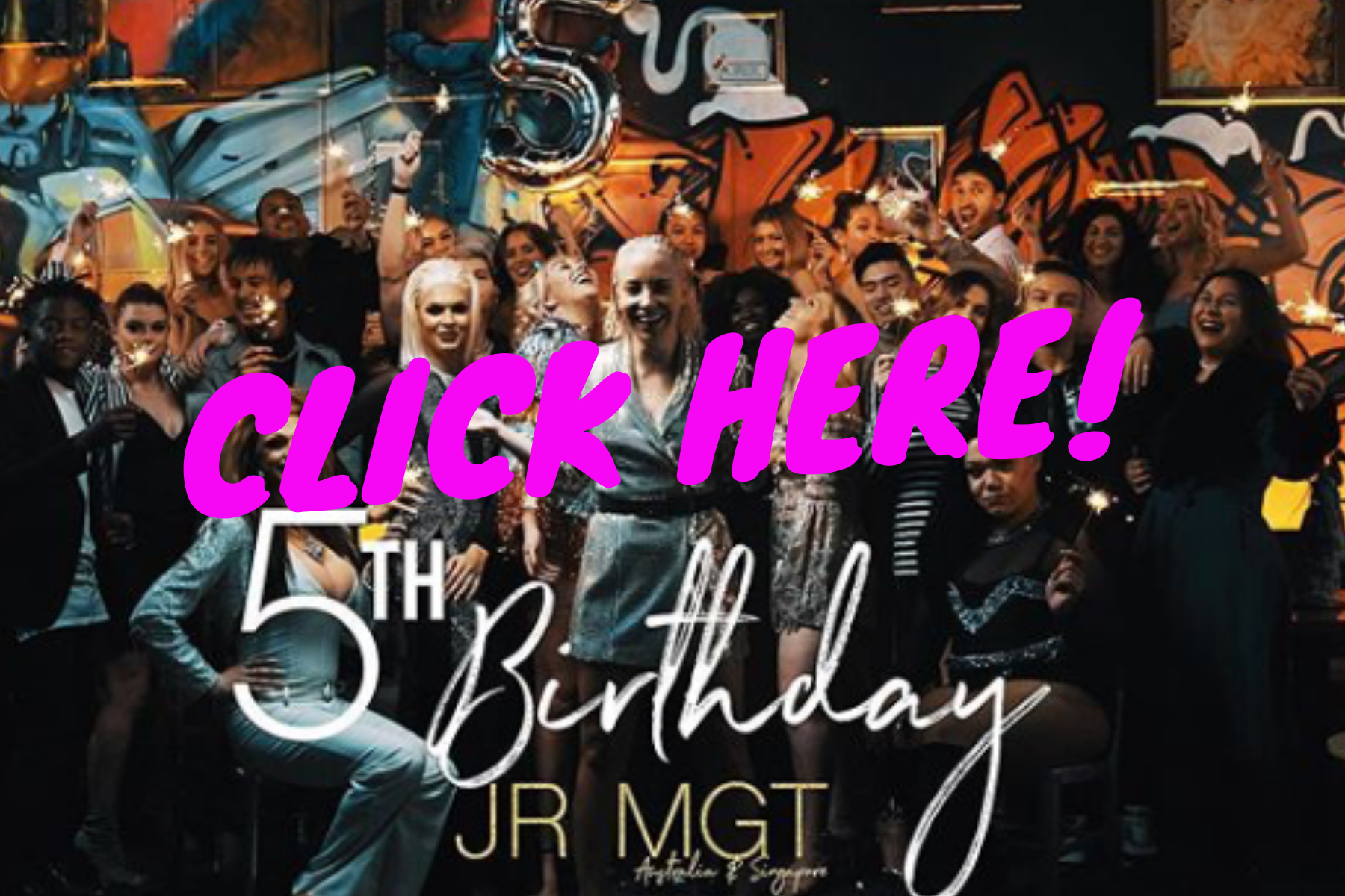 JR 5 YEAR CELEBRATION - Click now!